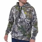 "Mossy Oak "" Mountain Country"" Lightweight Polyester Performance Pullover Hoodie"