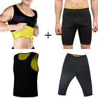 1 CANOTTA + 1 PANTALONE SNELLENTE UOMO HOT SHAPERS TRAINING DIMAGRANTE PALESTRA