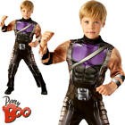 Hawkeye Boys Fancy Dress Avengers Comic Book Day Kids Childrens Costume Outfit
