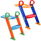 Baby Potty Training Toilet Chair Seat Safety Toddler Step Ladder Trainer Tool image
