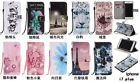 Beautiful Hang Rope Magnetic PU Leather Stand Card Wallet Flip Case Lot Phones