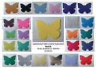 Garden Butterfly (BLOCK ONLY) Pearl & Shiny Paper! (30 pieces !) Multi Listing!