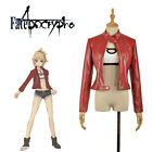 New Anime Fate/Apocrypha Saber Servant Mordred coat Coat cosplay costume