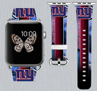 New York Giants Apple Watch Band 38 40 42 44 mm IWatch PU Leather Strap 167 on eBay