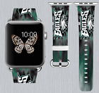 Philadelphia Eagles Apple Watch Band 38 40 42 44 mm IWatch PU Leather Strap 171 on eBay