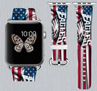 Philadelphia Eagles Apple Watch Band 38 40 42 44 mm IWatch PU Leather Strap 172 on eBay