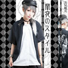 punk visual rock satanist devil summon baphomet Layered look shirt【JAG0014】