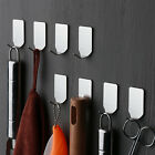 Kitchen Wall Door Stainless Steel Self Adhesive Towel Stick Holder Hook Hanger
