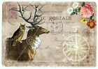 DEER&OWL A5 OR A4 size shabby chic vintage decoupage sheet - furniture decor