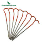 Boundless Voyage Titanium Alloy Tent Stakes Tent Nail Pegs Pack of 8/12 Ti1525B
