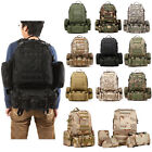 50L 3D Molle Military Tactical Backpack/Rucksack/Trekking Bag Hiking /Camping EW