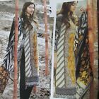 PAKISTANI INDIAN WOMEN PRINTED DESIGN UNSTITCHED PASHMINA WOOLLEN SUIT
