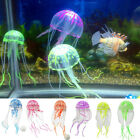 Aquarium Fish Tank Decoration Decor Glow Artificial Jellyfish Ornament