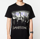 Evanescence Amy Lee Black T-SHIRT Tee Shirt Size S to 3XL Rock Punk Classic