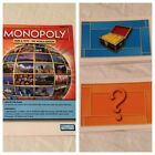 Monopoly Here and Now Board Game REPLACEMENT Parts Pieces Instructions Cards