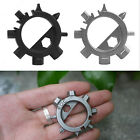 Keyring Opener Bottle Durable Stainless 12 Function Bicycle Multi Adjust Tool