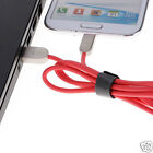 Micro USB Stripe Data Sync Charging Cable For Samsung Galaxy Note 4/5/Edge LG 1M