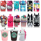 3D Cartoon Animal Stitch Kitty Soft Silicone Case Phone Cover for Apple iPhone
