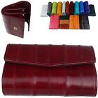 Women Wallet Coin Slots Genuine Eel Wallet  Coin Purse 16 Colors R206