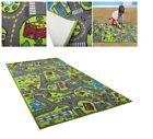 Carpet Playmat Rug City Life Playing Cars Toys Skid Proof Latex Back Indoor Roll