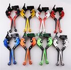 Fold CNC Clutch Brake Levers for Triumph Sprint GT RS ST Street Thruxton R $27.98 USD