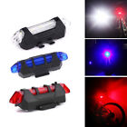 5 LED USB Chargeable Bicycle Bike Back Tail Flashing Safety Light Warning