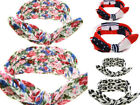 New Style Mum Baby Mother And Daughter Dot Rabbit Ears  Bow Knot Headband Suits