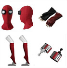 spiderman costume web shooters - Movie Spider-Man:Homecoming Spider Man Mask Gloves Stockings Web Shooters 2017