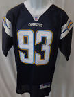 San Diego Chargers NFL Castillo Replica Sewn Football Jersey Navy #93 on eBay