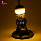 Game of Thrones Iron Throne Collector Construction Figures XMAS Toys LED Lamp UK