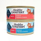 Blue Buffalo Healthy Gourmet Indoor Wet Cat Food Variety Pack - 2 Flavors And -