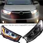 For Toyota Highlander 2015-2017 HID Headlight with LED DRL and Bi-xenon Projecto
