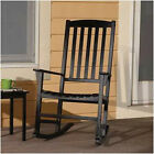 inexpensive rocking chairs - Porch Rocking Chair Solid Wood Rocker Indoor Outdoor Patio Seat ASSORTED COLORS