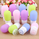60/89ml Silicone Travel Portable Bottles Shampoo Cosmetic Empty Lotion Container