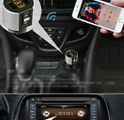 Smooth Wireless Bluetooth FM Transmitters MP3 Playe 2 USB  Connector Charger