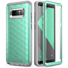For Samsung Galaxy Note 8 Case Clayco Hera Full-Body Cover with Screen Protector