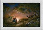 Terry Redlin SUNSET_HARVEST HD Art printed on canvas home decoration painting