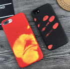 for iPhone 7 & 7+ PLUS - TPU Rubber Thermal Sensor Discoloration Heat Skin Case