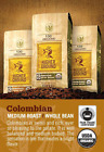 Higher Ground Organic and FTO Coffee Colombian 12oz