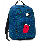 Backpack INVICTA faces OLLIE FACE FANTASY blue elicopter SEVEN INVICTA