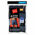 8 Hanes Men's Ringer Boxer Briefs with Comfort Flex® Waistband 7347P4