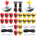 2 Player LED Arcade DIY Kit USB to Joystick for MAME, PS3, Android, Raspberry Pi