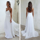 Spaghetti Straps Lace Sheath Wedding Dresses Bridal Gowns Custom Size 4+6+8+10++