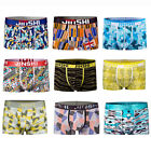 9 pack men underpants shorts Trunks boxer brief soft bamboo fiber