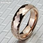 New Gift Men Women Tungsten18K Rose-golden plated Ring wedding band A71