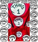 Thing1 2 3 Thing 2 T shirts Thing one two thing 2 dr