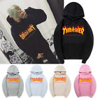 Thrasher Magazine Flame Logo Hooded Sweatshirt Hoodie Rare Offical Stockist