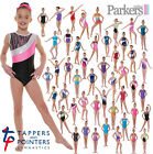 NEW TAPPERS AND POINTERS SLEEVELESS GIRLS GYMNASTICS LEOTARD GYM LEO 4-12 YEARS