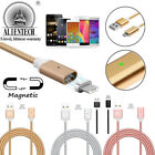 US 1M-2M Magnetic Micro USB / IOS Fast Charging Cable For iPhone Samsung Android