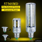 E27 E14 5W/7W/9W/15W/20W/25W Led Corn Light Bulbs 5736 Warm White Lamp AC85-265V